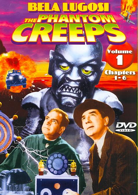 PHANTOM CREEPS VOL. 1 CHAPTERS 1-6 BY LUGOSI,BELA (DVD)